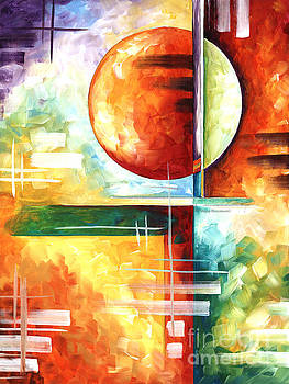 Abstract Original Art Contemporary Colorful Painting by Megan Duncanson Color Explosion I MADART by Megan Duncanson