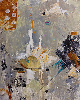Abstract Painting Lifes a Dance by Gray Artus