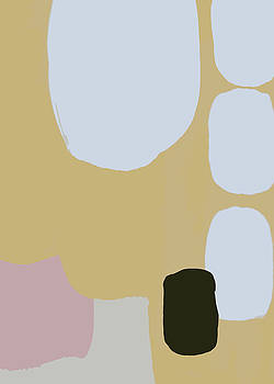 Abstract Pastel 03 by Cortney Herron