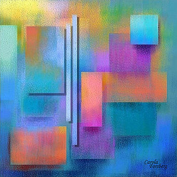 Abstract Pastel Nr18 by Carola Ann-Margret Forsberg