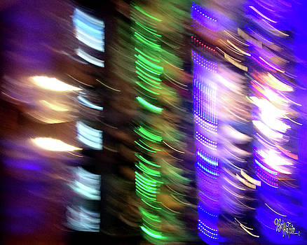 Abstract Photography Colored Bar Bottles #0609 by Barbara Tristan