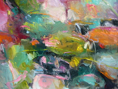 Abstract Pond 2 by Susan Jenkins