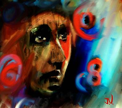 Abstract Portrait - 02Aug2017 by Jim Vance