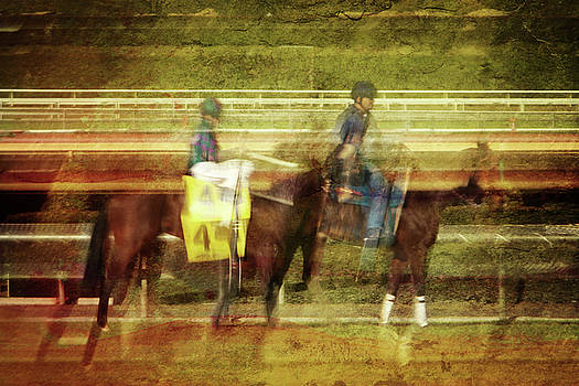Abstract Post Parade by Cheryl Ann Quigley
