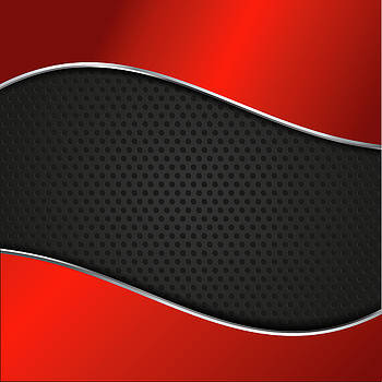 Valdecy RL - Abstract Red Carbon
