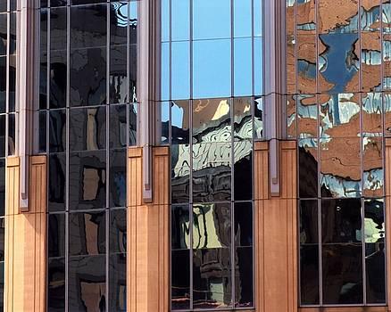 Karin Kohlmeier - Abstract Reflections in Glass