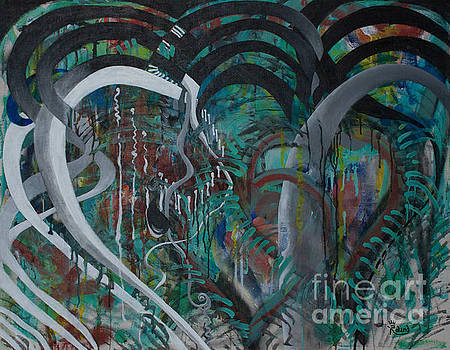 Abstract Romance by Tracy Dupuis Roland