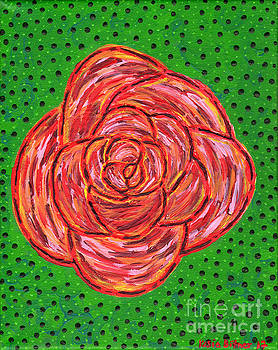Abstract Rose by Kasia Bitner