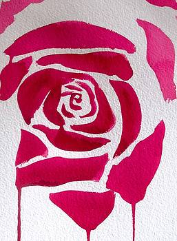 Abstract Rose by Sacha Grossel