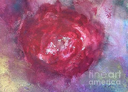 Abstract Roses  by Aase Birkhaug