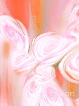 Abstract Roses by ElsaDe Paintings
