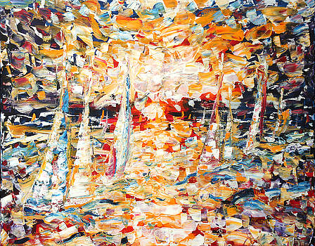 Pete Caswell - Abstract Sailing