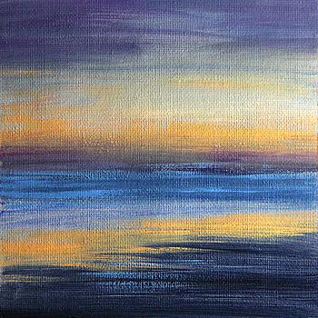 Abstract Sea 1 by Masha Batkova