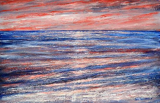 Abstract Seascape 7 by Dimitra Papageorgiou