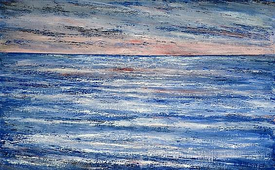 Abstract Seascape 8  by Dimitra Papageorgiou