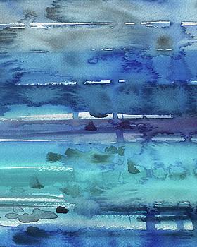 Irina Sztukowski - Abstract Seascape Turquoise Glow