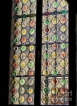 Patricia Hofmeester - Abstract stained glass