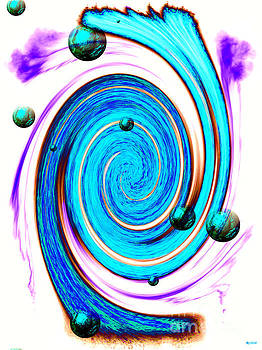Abstract Stream by Daniel Janda