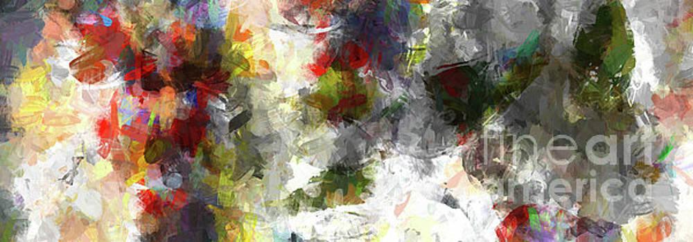 Ginette Callaway - Abstract Summer Clouds Modern Decor