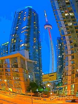 John Malone - Abstract Toronto Nights