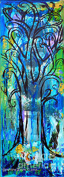 Genevieve Esson - Abstract Tree In Spring