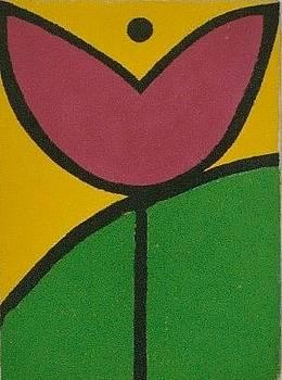 Abstract Tulip by Nicholas Martori