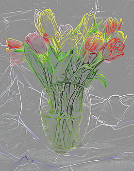 Abstract - Tulips by Greg Thiemeyer