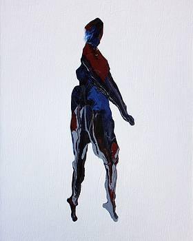 Karin Kohlmeier - Abstract Turning Figure