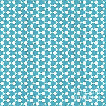 Abstract Turquoise Pattern 1 by Alisha at AlishaDawnCreations