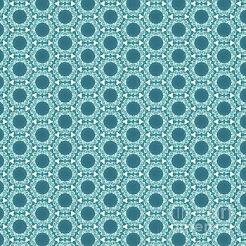 Abstract Turquoise Pattern 2 by Alisha at AlishaDawnCreations