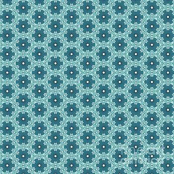 Abstract Turquoise Pattern 4 by Alisha at AlishaDawnCreations
