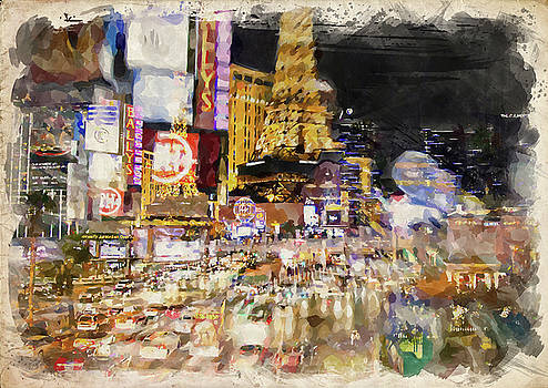 Ricky Barnard - Abstract Vegas II