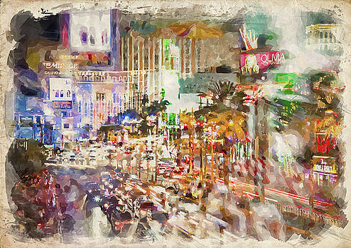 Ricky Barnard - Abstract Vegas III