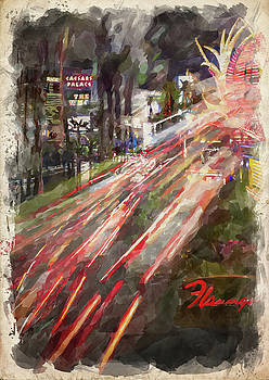 Ricky Barnard - Abstract Vegas V