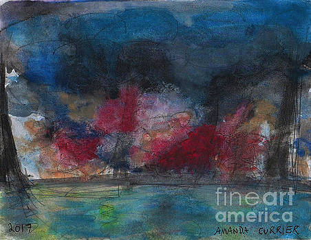 Abstract Water Landscape 1   by Amanda Currier
