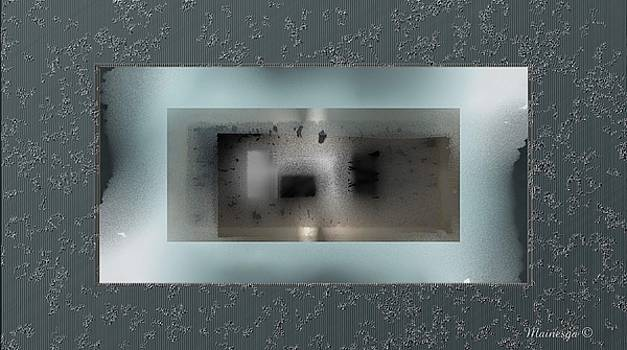 Abstract window with a view by Ines Garay-Colomba