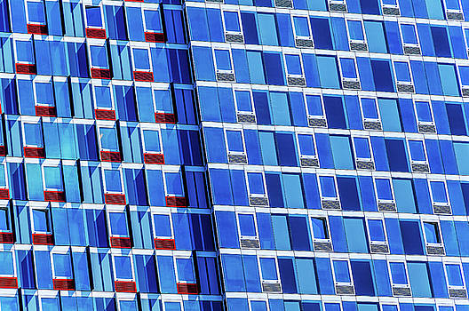 Abstract Windows New York City by Xavier Cardell
