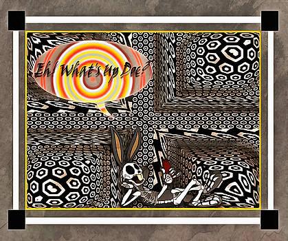 Abstract X-Ray Bunny by Mario Carini