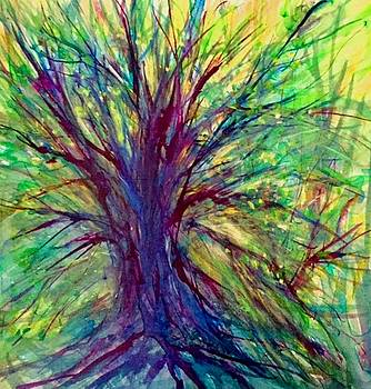 Abstracted Trees by Susan Abell
