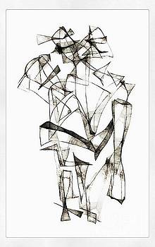 Marek Lutek - Abstraction 1954