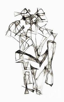 Marek Lutek - Abstraction 1956