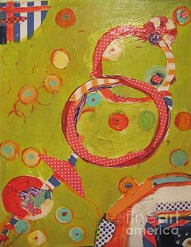 Abstraction #6 by Jacqui Hawk
