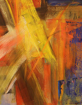 Abstrat #10 by Ethel Vrana
