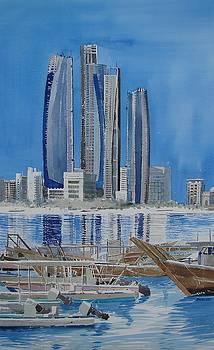 Abu Dhabi Blues by Martin Giesen