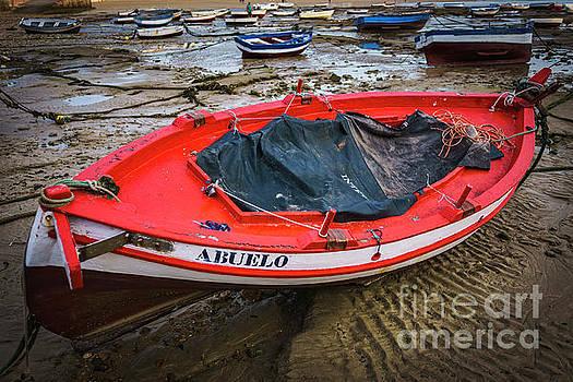 Abuelo Boat at La Caleta Cadiz Spain by Pablo Avanzini