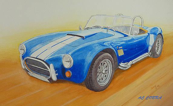 AC Cobra Sports Car by David Godbolt