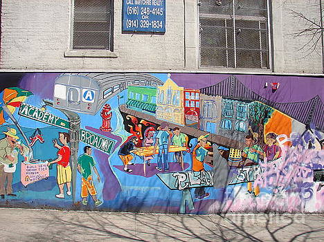 Academy Street Mural by Cole Thompson