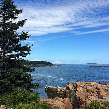 Acadia, Maine #acadiame #august by Kerri Ann Crau