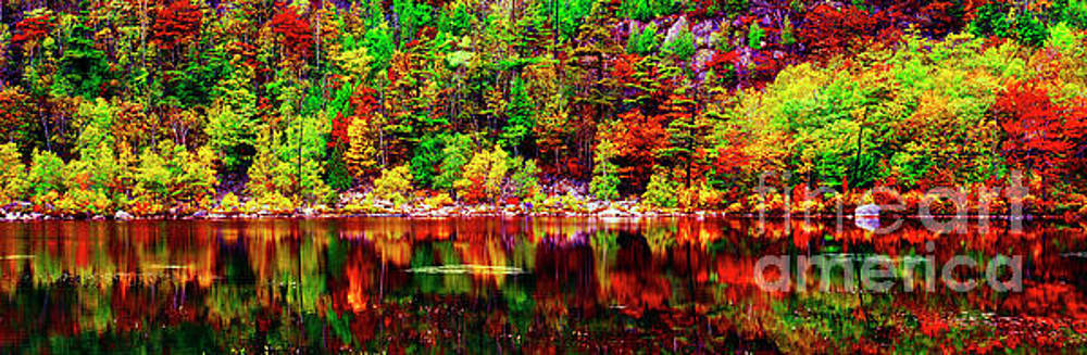 Acadia  National Park Somes Sound Fall Maine 302040118 by Tom Jelen