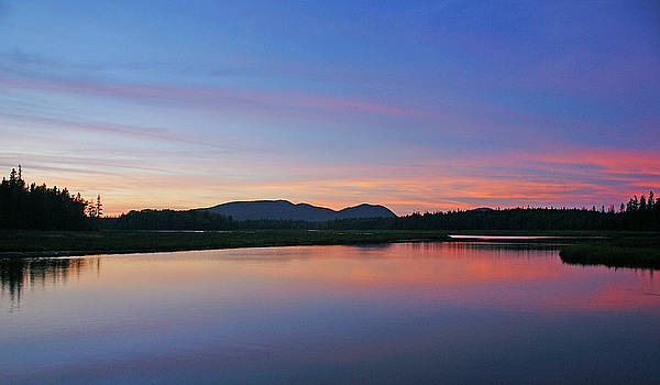 Acadia Sunset by Bill Morgenstern